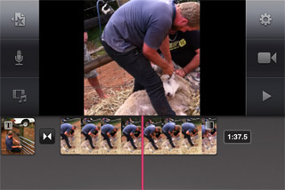 iMovie on the iPhone4 in Action | ShedWorx