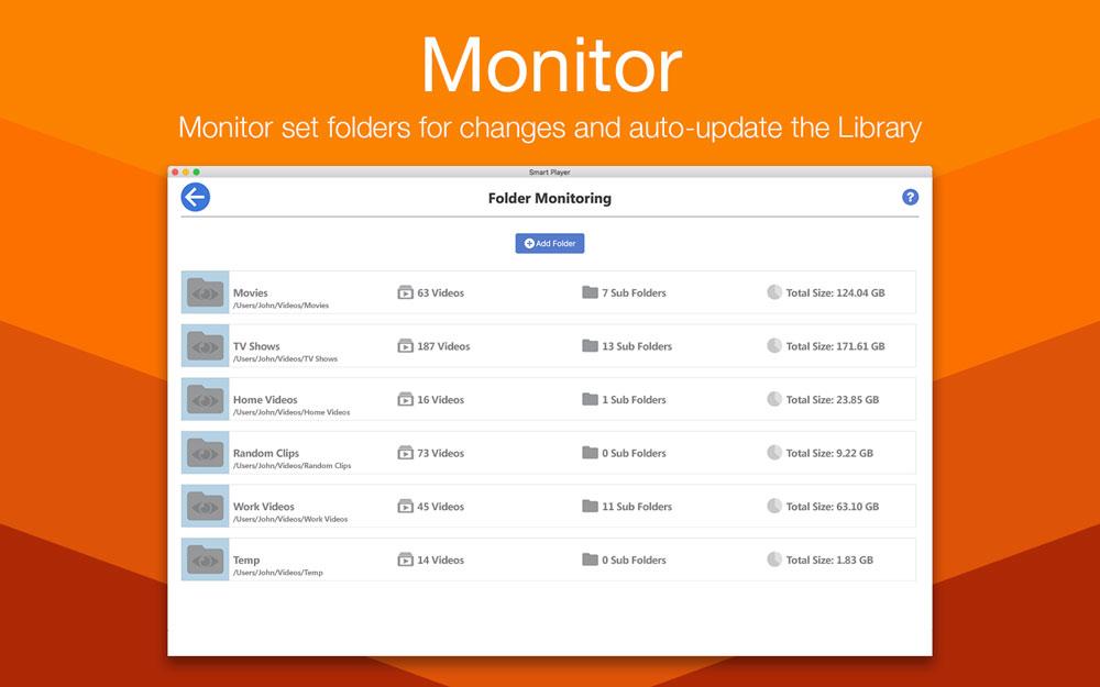 Smart Player Pro Mac 破解版 视频播放和管理工具-麦氪搜(iMacso.com)