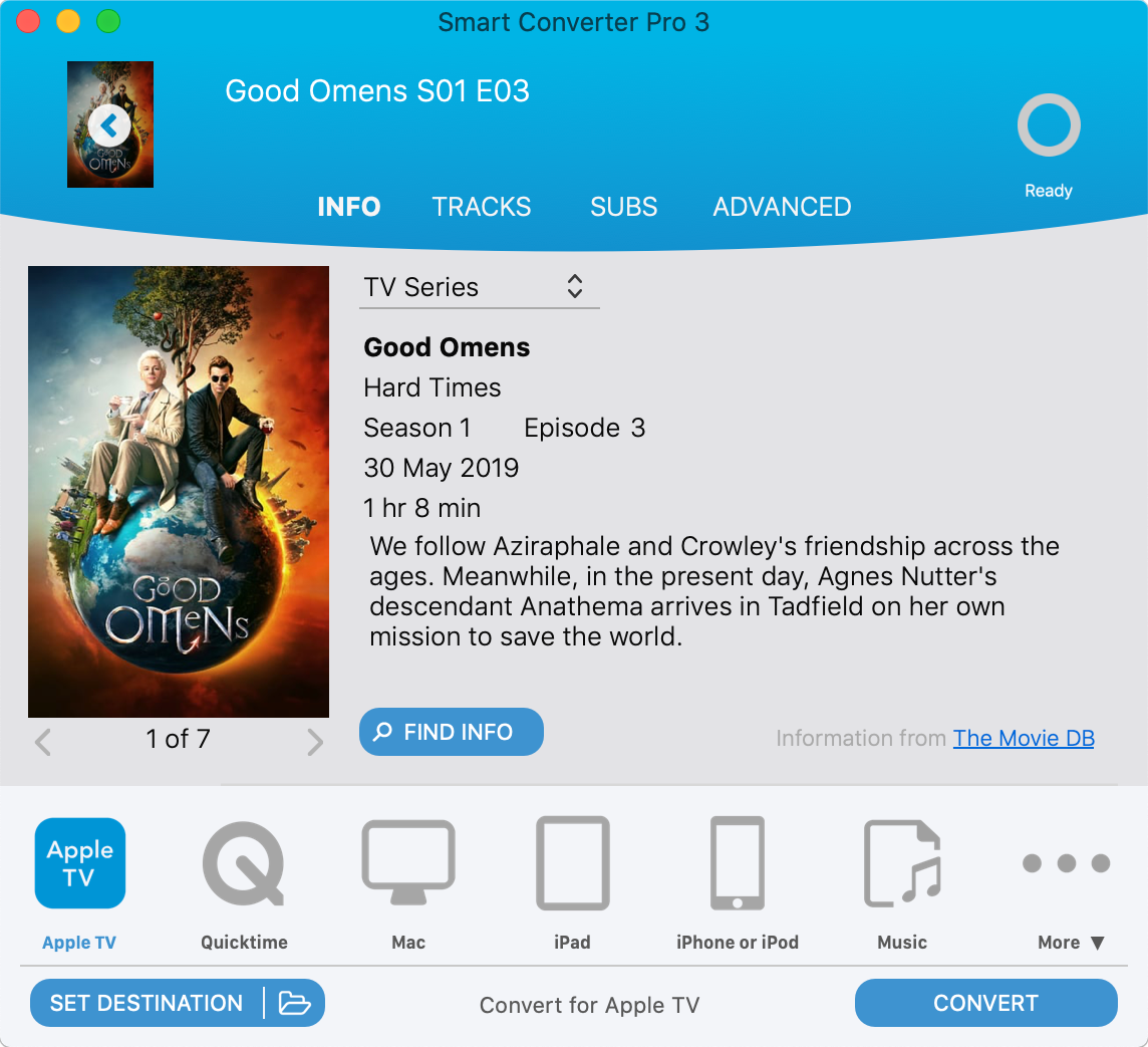 Screenshot of Smart Converter Pro 3