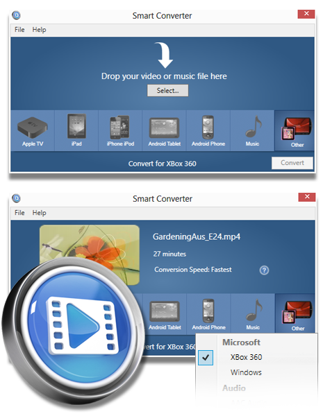 Screenshot of Smart Converter for Windows